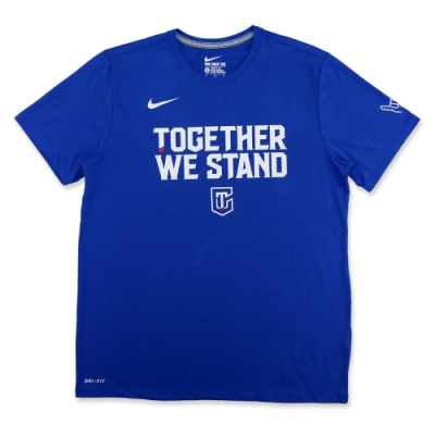NIKE AS TOGETHER WE STAND TEE中華T 藍色