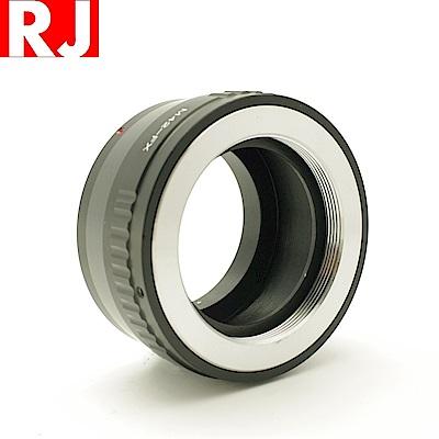 RJ製造 鏡頭轉接環 M42-FX(有檔板.有遮蔽)