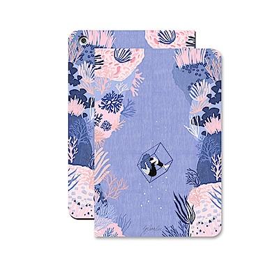 漁夫原創- iPad保護殼 9.7吋 2017/2018 - 紫珊瑚
