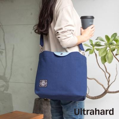 Ultrahard Masterpiece Map 袋蓋兩用托特包(藍)