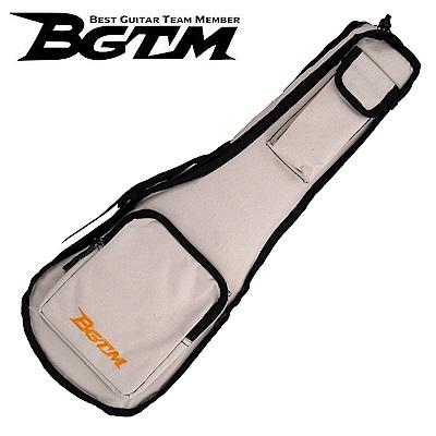 BGTM嚴選UK-01超高質感23吋烏克麗麗琴套(雙背/厚棉)-米白
