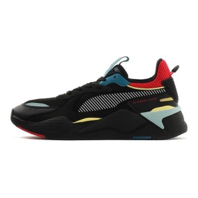 PUMA-RS-X HD2 男女復古慢跑運動鞋-黑色
