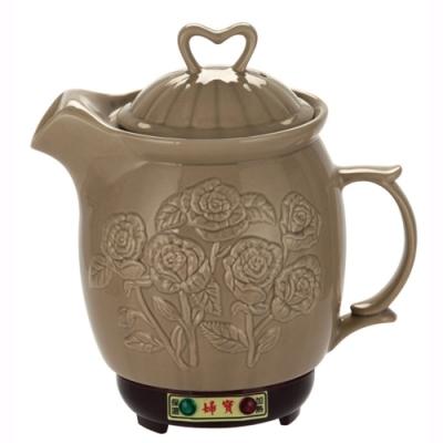 婦寶3.8L玫瑰陶瓷煎藥燉補電壺