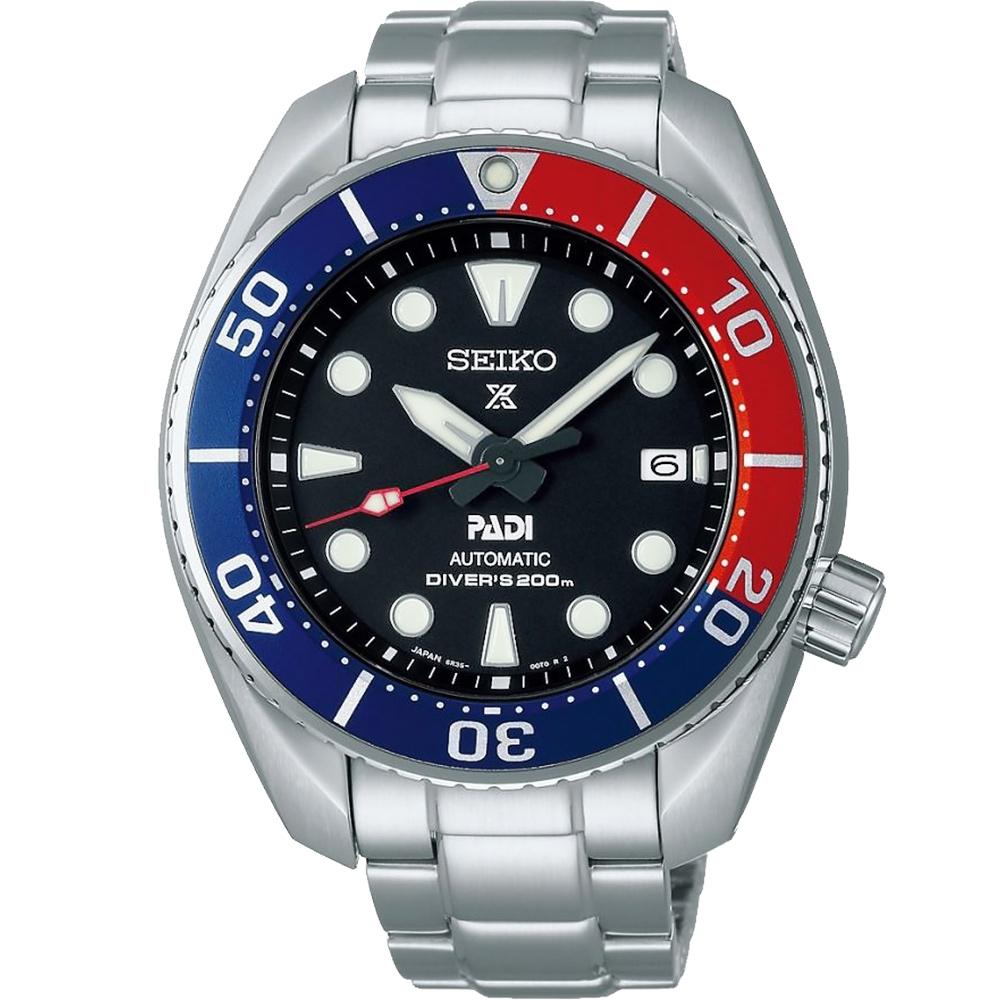 SEIKO 精工 Prospex SCUBA PADI 潛水機械錶(SPB181J1/6R35-00R0R)-45mm