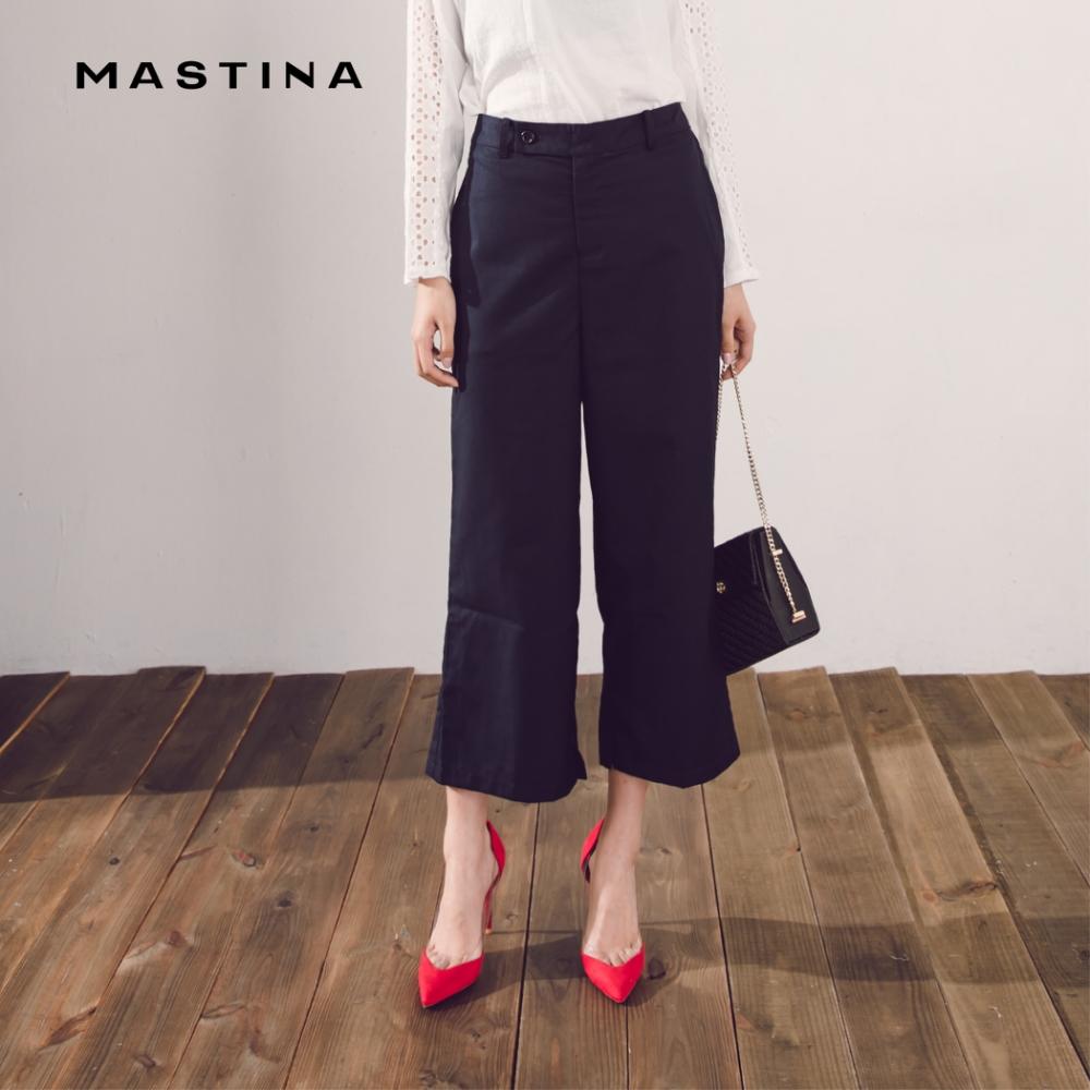 【MASTINA】上班族系列寬口-長褲(二色)