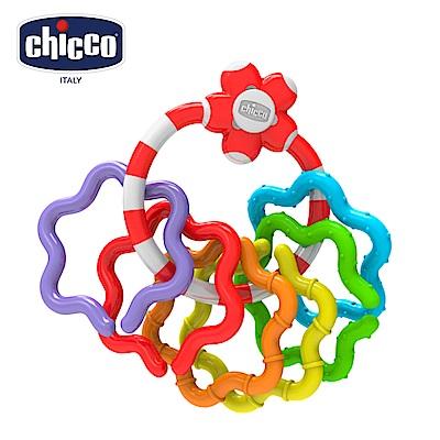 chicco-寶貝學習顏色形狀手搖鈴
