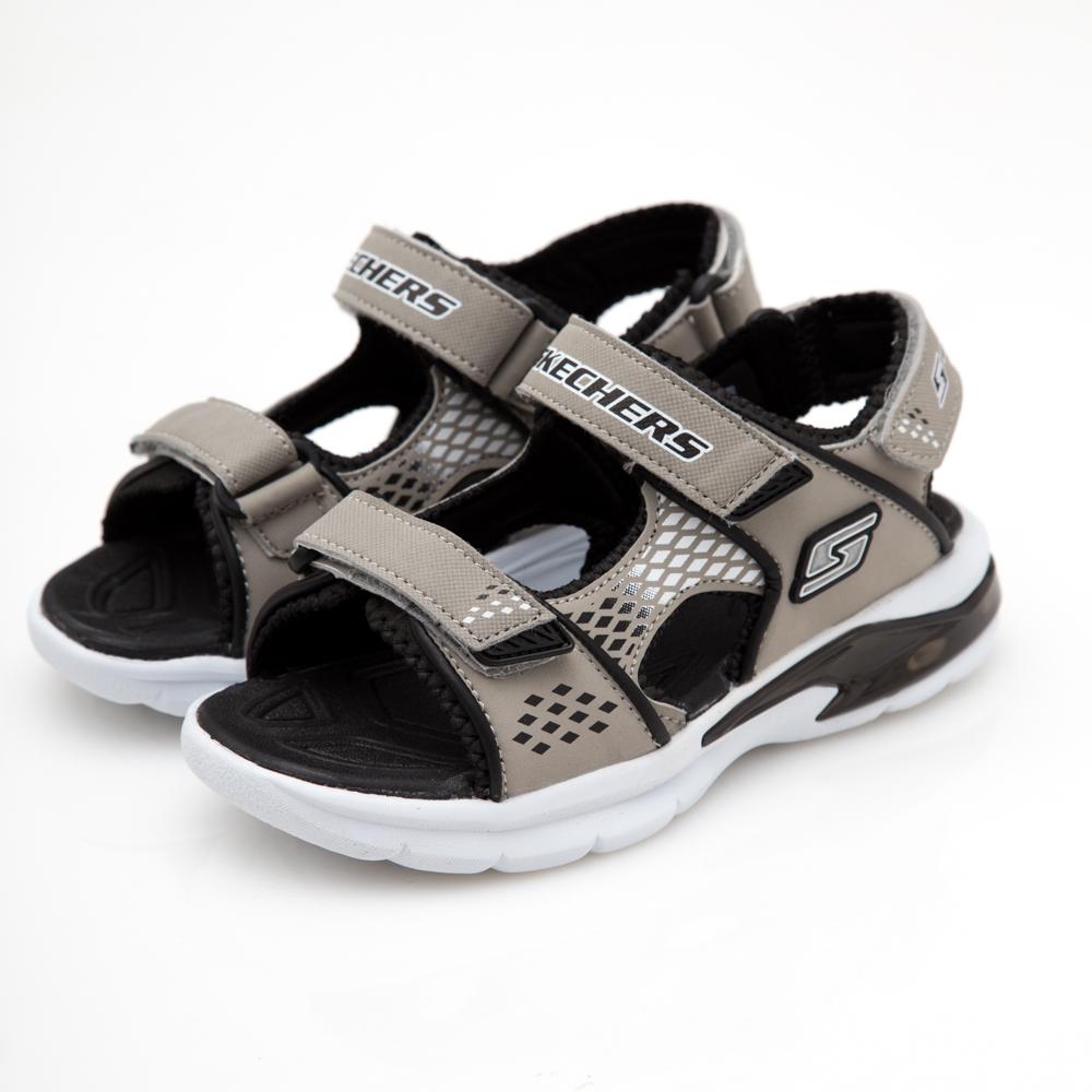 SKECHERS (童) 男童涼鞋E-II SANDAL-90558LSLBK
