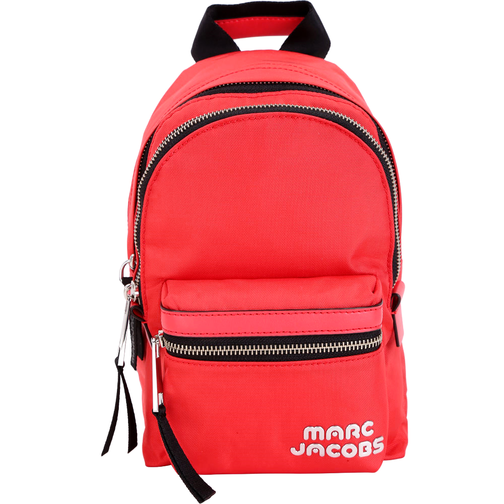 MARC JACOBS Trek Pack 輕質高性能尼龍後背包(小/橘紅色)
