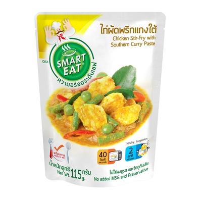 (任選) Smart Eat 泰式道地 南方風味咖哩打拋雞肉即食包(料理包/方便/調理包/咖哩包)