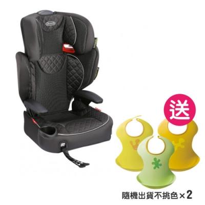 【限時下殺】GRACO AFFIX 幼兒成長型輔助汽車安全座椅【贈兜兜2入】 (2色可選)