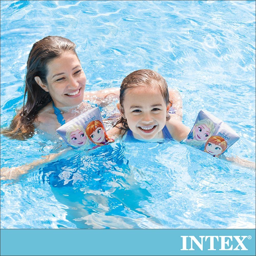 INTEX 冰雪奇緣ELSA-臂圈 適用3-6歲(56640)