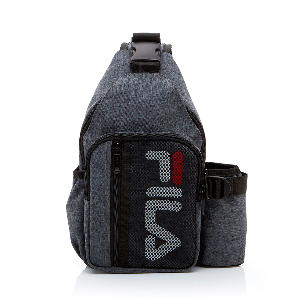 FILA 小型單肩後背包-灰色 BPT-1203-GY