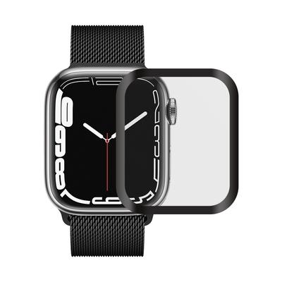 Metal-Slim Apple Watch Series 7 41mm 3D全膠滿版鋼化玻璃保護貼