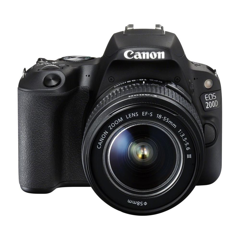 CANON 200D KIT 18-55  F3.5-5.6 III黑色 (中文平輸)