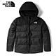The North Face 男 防潑水保暖羽絨連帽外套-NF0A4U82JK3 product thumbnail 1