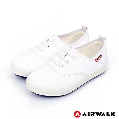 【AIRWALK】樂趣一夏經典帆布鞋-童款-白色