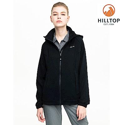 【hilltop山頂鳥】女款三倍快乾冷黑抗UV輕量外套S02FC6黑美人