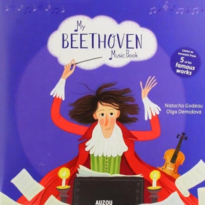 My Beethoven Music Book 貝多芬音樂書
