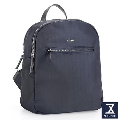 74盎司 Roomy 雙層尼龍後背包[LG-921-RO-W]藍