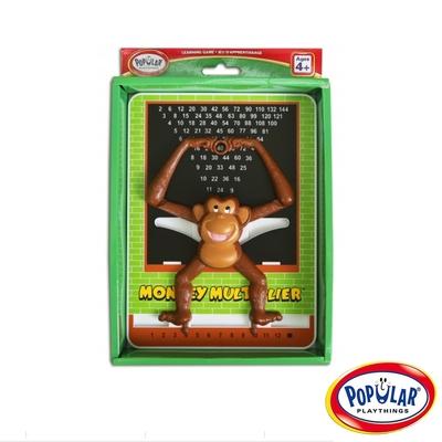 【美國Popular Playthings】頑皮小猴學乘法 #50201