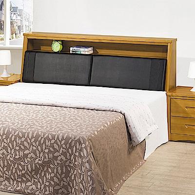 AS-貝克實木雙人加大6尺床頭箱-183x30x100cm