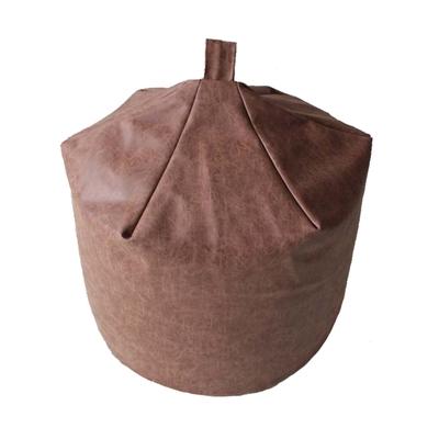 英國Better Dreams Bean Bag 懶骨頭-水滴皮紋咖啡(寬60cm高78cm)
