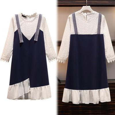 【韓國K.W.】(預購)韓時尚純真幻想洋裝-1色