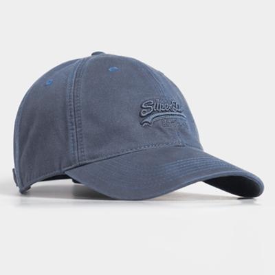 SUPERDRY 棒球帽 Orange Label 藍