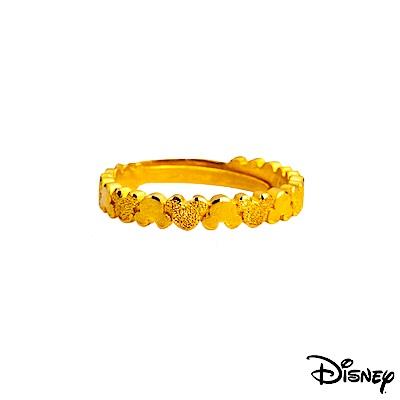 Disney迪士尼系列金飾 黃金戒指-浪漫米奇款