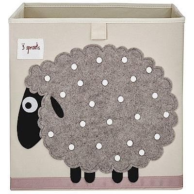 加拿大 3 Sprouts 收納箱 小綿羊