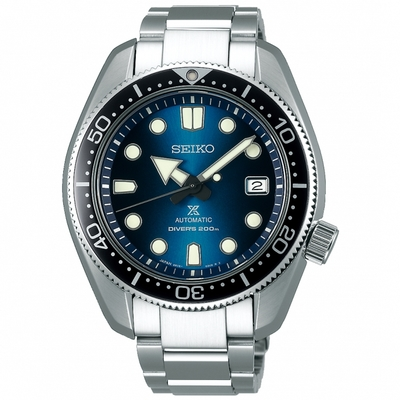 SEIKO精工 Prospex SCUBA200米潛水機械錶 6R15-04G0B(SPB083J1)-藍/44mm