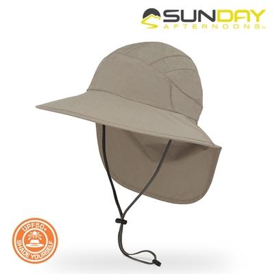 Sunday Afternoons 抗UV防水透氣護頸帽 S3A01558B【灰褐色】
