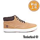 Timberland 男款Chukka小麥黃皮革休閒靴