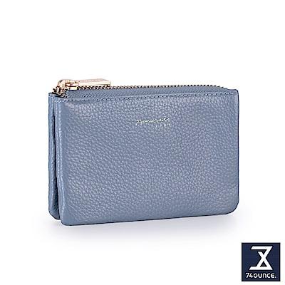 74盎司 Tender Lady真皮三層零錢包[LN-751]水藍