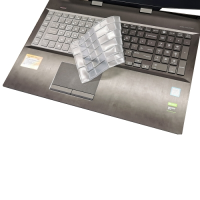 EZstick HP OMEN 17-cb0047TX 系列專用 高級TPU鍵盤膜