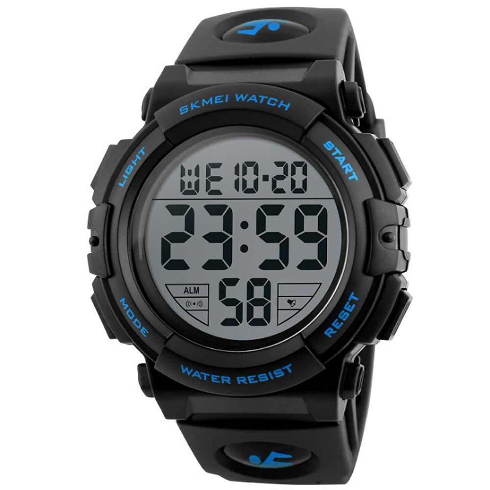SKMEI 時刻美1258-大數字戶外多功能運動電子錶(3色任選) @ Y!購物