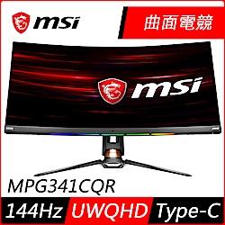 [無卡分期12期]MSI微星 Optix MPG341CQR 34型 2K曲面
