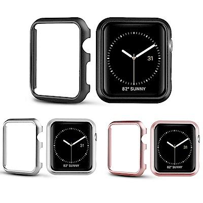 Apple Watch1/2/3/4電鍍金屬錶框 手錶保護邊框