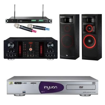 音圓N2C+FNSD A-450+XLS-12+ACT-589(伴唱機 4TB+卡拉OK套組)