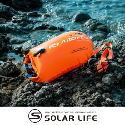AROPEC PVC耐用單氣囊游泳浮球(可當15L防水裝備袋).充氣游泳浮球 可充氣漂流袋