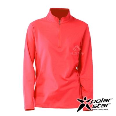 【PolarStar】女 立領保暖長袖上衣『橘』P20228