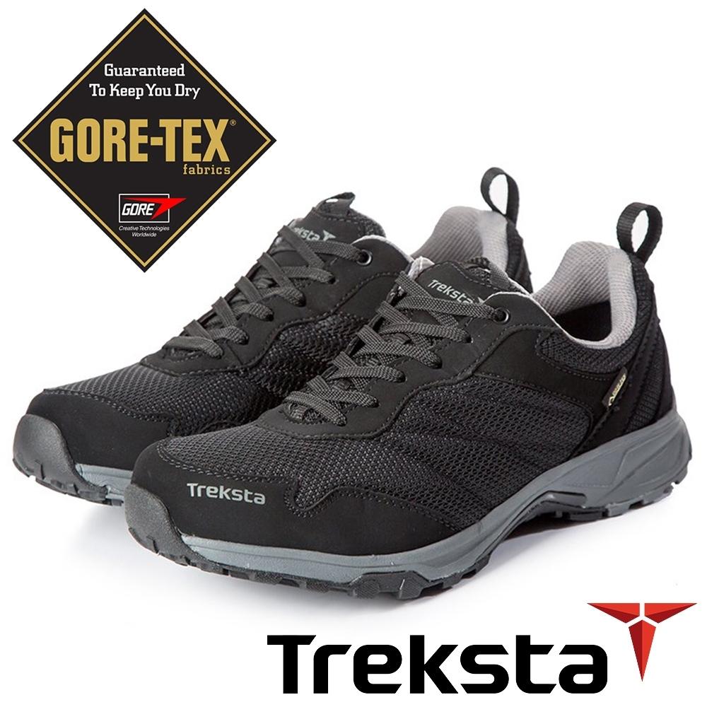 Treksta STA LACE101 男GTX 防水低筒健行鞋『黑』KR20AMA