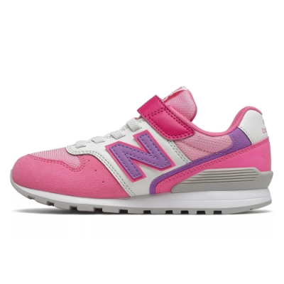 NEW BALANCE 緩震 訓練 健身 運動鞋 慢跑鞋 中童 童鞋 兒童 粉 YV996MPPW