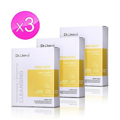 Dr.Douxi朵璽 卵殼精萃乳霜皂100g 3入組