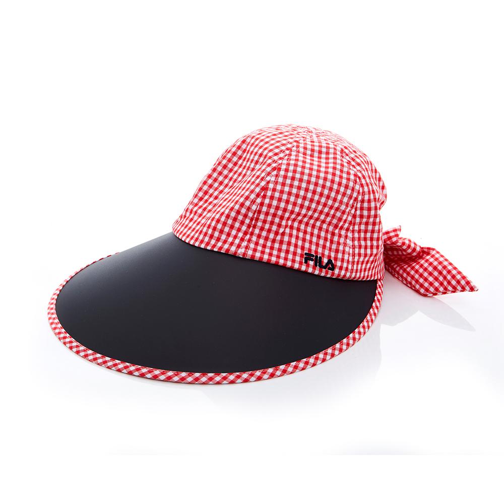 FILA 時尚遮陽帽-紅 HTT-1009-RD
