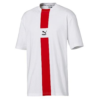 PUMA-男性 系列PUMA XTG短袖T恤-白色-歐規