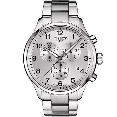 TISSOT天梭Chrono XL韻馳系列經典計時腕錶(T1166171103700)