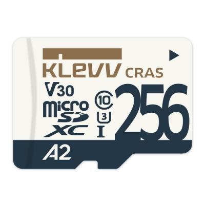 KLEVV科賦CRASmicroSDXC UHS-I U3 V30 A2 256GB記憶卡