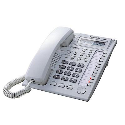 Panasonic 國際牌 總機專用有線電話 KX-T7730 時尚白