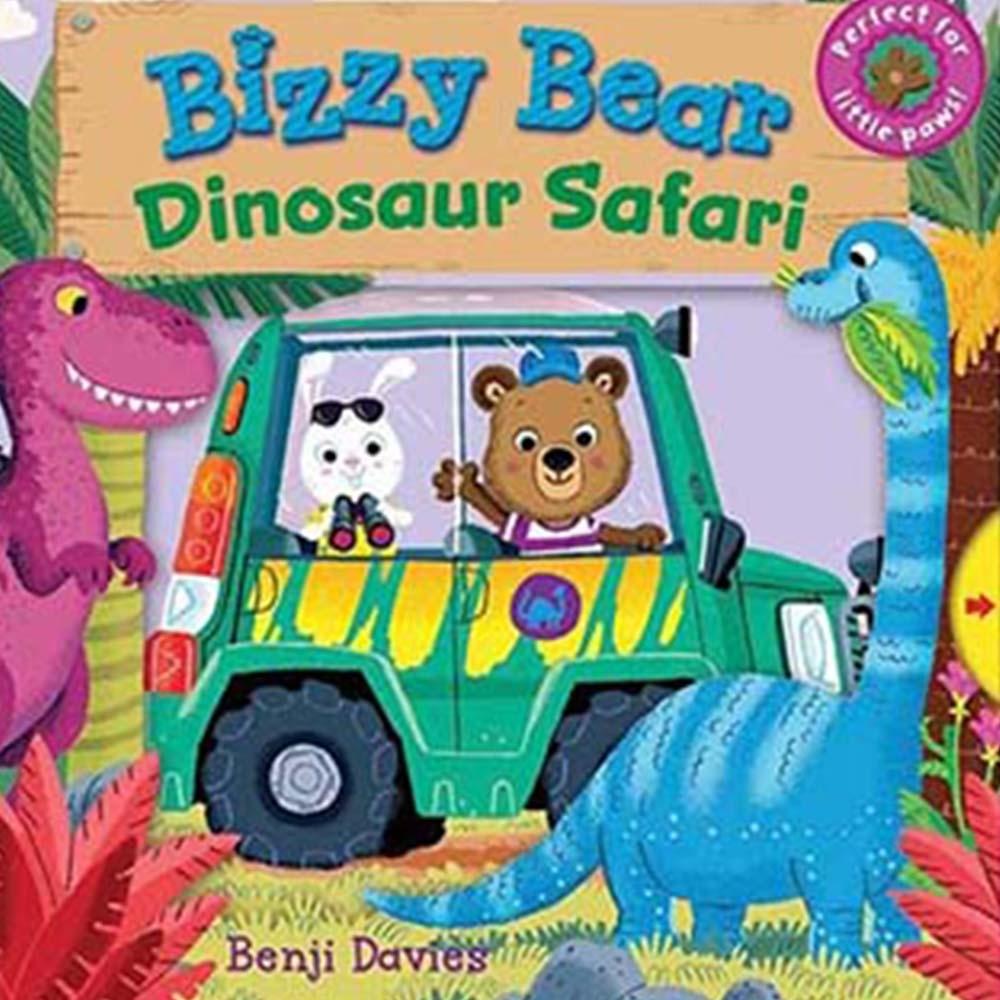 Bizzy Bear:Dinosaur Safari 恐龍樂園熊熊新奇操作書(英國版)